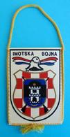 4. BRIGADA ( PAUCI ) SPLIT - BOJNA IMOTSKI - Croatia Army Pennant Flag Croatie Armee Fanion Kroatien Croazia Croacia - Flags