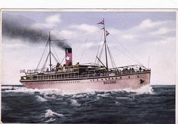 """SS.""""Salona"""" Jadranska Plovidba , Croatia-Hrvatska - Kroatien"""
