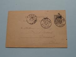 CP France Stamp EURE ( ) 1895 PARIS ( Zie Foto Details ) !! - France