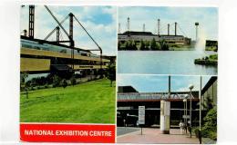 Postcard - B' Ham - N.E.C. Centre 3 Views - Posted 8th Nov 1992 Very Good - Postcards