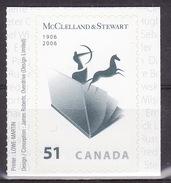 Canada 2006 Centenary Of McClelland & Stewart MNH**