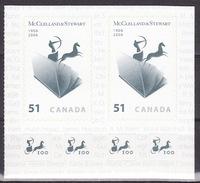 Canada 2006 Centenary Of McClelland & Stewart 2x MNH** - 1952-.... Reinado De Elizabeth II