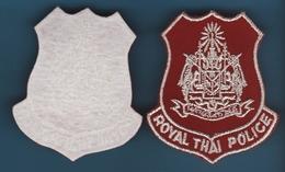 Royal Thai Police  Insignia ECUSSON ORIGINAL - Ecussons Tissu