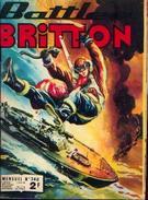 BATTLER BRITTON - Mensuel N° 340 - 6 - 1975 - Ed. Imperia - Kleine Formaat