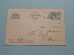 CP Briefkaart Holland  : 's GRAVENHAGE 1916 LA HAYE ( Zie Foto Details ) !! - Entiers Postaux