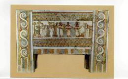 Postcard - Sarkophagus From Hagia Triadha.Bloodless Sacrifice 1400 B.C Very Good - Postcards