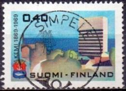 Finland 1969 100 Jaar Kemi GB-USED