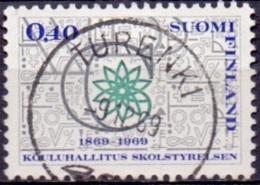 Finland 1969 Schoolraad GB-USED