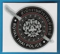 Royal Thai Police Auto Collant  ORIGINAL - Police & Gendarmerie