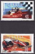 1997 Gilles Villeneuve Formula 1 Race CAr Driver Sc 1647-8 MNH **