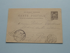 CP Briefkaart : La FRANCE 1897 BERLIN ( Zie Foto Details ) !! - France