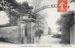 LOCQUIREC - ( 29 ) - Entrée De L'Hôtel Des Bains - Locquirec