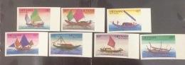 Vietnam MNH Imperf Stamps 1989 : Regional Fishing Junk Of Viet Nam (Ms564) - Vietnam