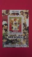 LES CONQUERANTS DE LA TERRE - Corée Du Nord 1980 - Bloc N°28 - Oblitérés