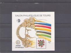 France 1992 CNEP N° 15 * Salon Philatelique De Tours