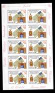 Monaco Bloc De 10 Vignettes Autocollantes Neuves ** MNH émis En 1999 Pour L'exposition - Other