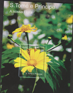 O) 2010 SRI LANKA, FLOWER - GIRASSOL, HELIANTHUS ANNUUS - ASTERACEAE, SOUVENIRM NH