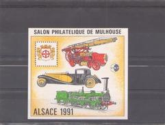 France 1991  CNEP N° 13  ** Salon Philatelique De Mulhouse - CNEP
