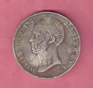 RIJKSDAALDER 2 1/2 GULDEN 1841 WILLEM II LASTIGSTE JAAR NASLAG - 1840-1849 : Willem II