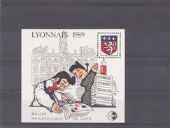 France 1989  CNEP N° 10  * Salon Philatelique De Lyon - CNEP