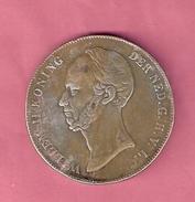 RIJKSDAALDER 2 1/2 GULDEN 1842 WILLEM II  NASLAG - [ 3] 1815-… : Royaume Des Pays-Bas
