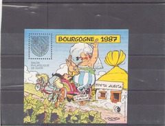 France 1987  BF CNEP N° 8 * *  Salon Philatelique De Dijon