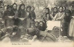 Pays Div-ref H46- Macedoine - Costumes Funeraires - Carte Bon Etat  - - Macedonia