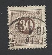 Schweden, 1872, Michel-Nr. 24 B, Gestempelt