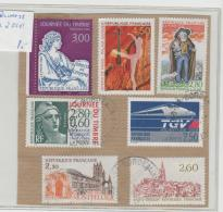 Frankreich 252 / Diverse Ausgaben (7) Pre 2000 (ca. 1989-1995)  O - Frankreich