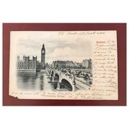 London  Westminster Bridge  Précurseur