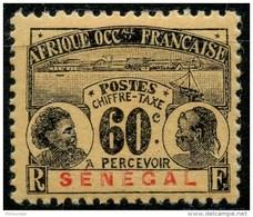 Senegal (1906) Taxe N 10 * (charniere)