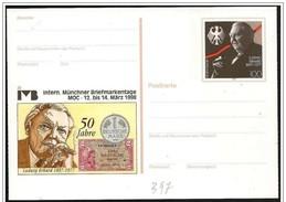 Germania/Allemagne: Intero, Stationery, Entier, Monete Tedesche, German Coins, Pièces Allemandes