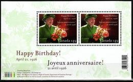 Canada 2006 Scott #2150 Queen Elizabeth II, 80th Birthday  MNH ** Souvenir Sheet