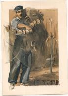-64- PAYS BASQUE  Le Pêcheur - Neuve Excellent état - Par Illustrateur - Collection Figures Du Terroir - Unclassified