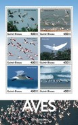Guinea Bissau 2016, Animals, Water Birds, 6val In BF