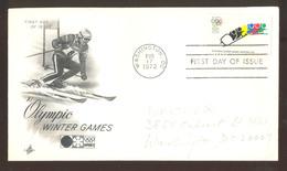Jeux Olympiques D'hiver 1972  Premier Jour   Ski - Athlétisme