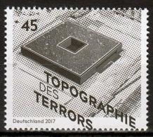"Bund MiNr. 3276 ** 25 Jahre Stiftung ""Topographie Des Terrors"" - [7] Repubblica Federale"