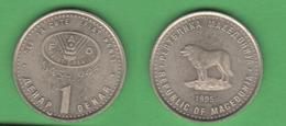 FAO Macedonia 2 Dinars 1995 - Macédoine