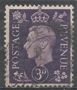 Great Britain 1941. Scott #263 (U) King George VI * - 1902-1951 (Rois)