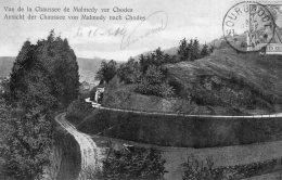 V6525 Cpa Belgique - Vue De La Chaussée De Malmedy Ver Chodes - Malmedy