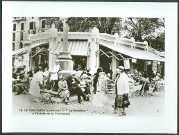44 - Le Pouliguen, La Potinière, Photo Tirage Repro D'une Carte Postale - Reproducciones