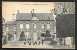 MEHARICOURT Ecole Des Filles (Capaumont Hermann) Somme (80) - France