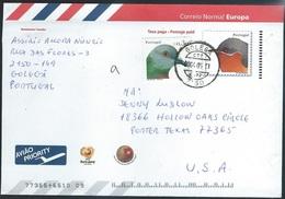 Portugal   2003   Sc#2530 30c Birds On Postal Cover