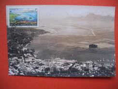 Papeete  YT N°32 CARTE MAXIMUM 7f. CARD PREMIER JOUR PAPEETE 1 Décembre 1964 - Cartes-maximum