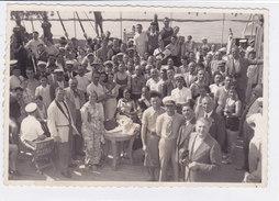 "PHOTO SUPERTRANSATLANTICO ""REX""  1938 VITA DI BORDO  2 SCANNER -2-0882-26922-923 - Paquebots"