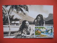 Papeete PA  YT N°9 CARTE MAXIMUM 23f. CARD PREMIER JOUR PAPEETE 1 Décembre 1964 - Cartes-maximum