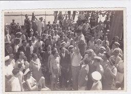"PHOTO SUPERTRANSATLANTICO ""REX""  1938 VITA DI BORDO  2 SCANNER -2-0882-26924-925 - Paquebots"
