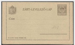 Ungheria/Hongrie/Hungary: Intero Postale, Postal Stationery, Entier Postaux