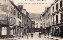 BORT LES ORGUES - Entrée De La Grande Rue - Frankrijk