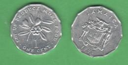 FAO Giamaica Jamaica One Cent  1991 - Giamaica